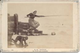 Carte Photo Musée Du Luxembourg, La Pêche Aux Anguilles, R.-H, Ravaut - Autres Collections