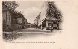 """ST PIERRE DE BOEUF """"Place De L'église Et Route De Chavanay"""" - Other Municipalities"""