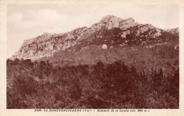 LA ROQUE BRUSSANNE Sommet De La Loube  1930 - La Roquebrussanne