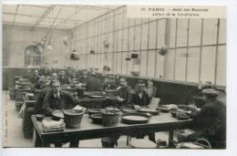 OJ/ Ca 1908 Achat Immédiat, Buy Now, Lot 3 Cpa/pc/pk Paris Hôtel Des Monnaies, Animée, Argent, Fabrication, Money, Geld - Petits Métiers à Paris