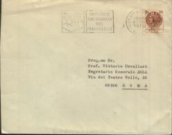 1975 Concorso XVII Giornata Del Francobollo Targhetta Meccanica - Affrancature Meccaniche Rosse (EMA)