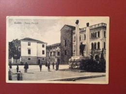 CIVIDALE - PIAZZA FOROJULI - ANNULLO POSTA MILITARE/UFF. INTENDENZA D'ARMATA  - 1916 - Udine
