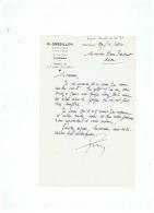 CONSEIL JURIDIQUE R . GRESILLON   à   FOURMIES   (NORD)   1960 - Vieux Papiers