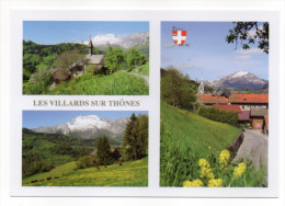 LES VILLARD SUR THONES-Multivues-La Chapelle De Villard-Dessous-Villard Sur Thônes-cpm  éd Hugues Bonnel- - Francia