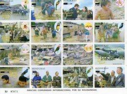 2005 HONDURAS - Birds - Pájaros