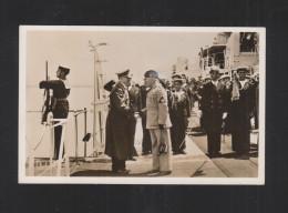 Cartolina Hitler Duce Napoli - Personnages Historiques