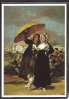 Oeuvre De Goya, Les Jeunes, Femmes Et Leur Ombrelle, Chien, Musée De Lille - Peintures & Tableaux