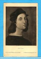 RAFFAEL Sanzio (*1483 - +1520) -  ** AUTOPORTRAIT DE L'AUTEUR - GRAVURE N°2366 **  -  Verlag : A. HILDENBRANDT De Berlin - Paintings