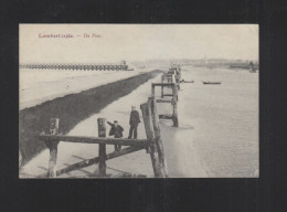 Potkaart Lombardsijde De Pier 1916 - Middelkerke