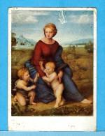 RAFFAEL Sanzio (*1483 - +1520) -  ** MADONNA IM GRÜNEN **  -  Verlag : WIECHMANN De Starnberg  N° 134 - Pittura & Quadri