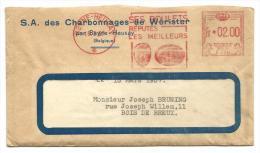 EMA 1957 - Charbonnages de W�rister - Ses boulets - r�put�es les meilleurs