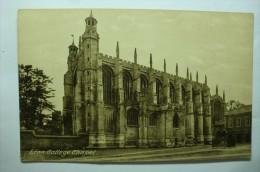 Eton College, Chapel - Angleterre