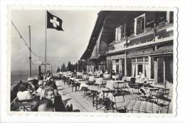 12549 -  Buffet-Restaurant Des Pléïades S/ Vevey Drapeau Suisse - VD Vaud