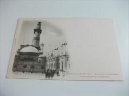 ESPOSIZIONE EXPOSITION DE 1900 NAVIGATION DE COMMERCE GRANDE BRETAGNE & ALLEMAGNE IL FARO - Esposizioni