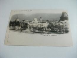ESPOSIZIONE EXPOSITION DE 1900 VUE PRISE DU TROCADERO - Esposizioni