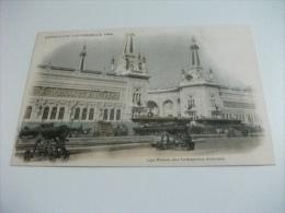 ESPOSIZIONE EXPOSITION DE 1900 LES PALAIS DES INDUSTRIES DIVERSES  CANNONI - Esposizioni