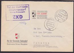 Stahnsdorf Kreis Potsdam Behörde Autorité Authority Rat Der Gemeinde 1964 Festwoche 700 Jahre - Official