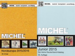Nord-Europa+Deutschland Junior Katalog 2015 Neu 76€ MlCHEL D 3.Reich Danzig Saar Berlin SBZ DDR BRD DK Eesti SF Latvia S - Holanda