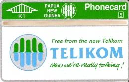 TARJETA DE PAPUA Y NUEVA GUINEA DE TELIKOM (505A) NUEVA-MINT - Papua New Guinea