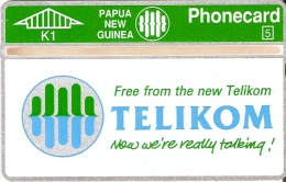 TARJETA DE PAPUA Y NUEVA GUINEA DE TELIKOM (505A) NUEVA-MINT