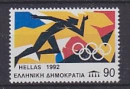 "Greece 1992 Olympic Sommergames Barcelona ""Laufen"" 1v ** Mnh (22571D) - Zomer 1992: Barcelona"