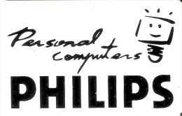 TARJETA DE PAKISTAN DE 30 UNITS(COLOR ROJO) DE PHILIPS PERSONAL COMPUTERS (TELECARD) - Pakistán