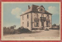 57 - SOUVENIR De SCHALBACH - Restaurant Et Débit De Tabac Auguste MOLIA - France