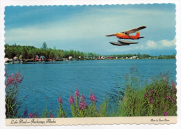 Etats-Unis--Alaska--ANCHORAGE--Lake Hood (hydravion),cpsm 15 X 10 éd Artic Circle Ent INC - Etats-Unis