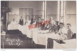 Au Plus Rapide Marseille Carte Photo Intérieur Hôpital Salvator Une Salle Malade Médecine 28 29 - Marseille