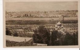 JERUSALEM CARTE PHOTO VUE PANORAMIQUE - Israele
