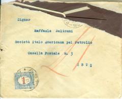 Lettera Con Segnatasse 1 Lira 1933 - Lot. 254 - 1900-44 Vittorio Emanuele III