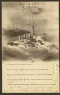 Rare Guerre Navale 1914 1915 DU CHAYLA Croiseur Français Par Grosse Mer (Grimaud) - War 1914-18