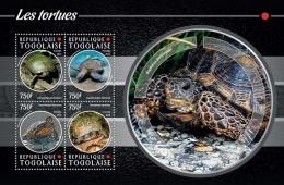 TOGO 2015 - Turtles. Official Issue - Schildpadden