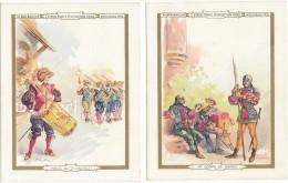 AU BON MARCHE - Suite De 10 Chromos - Vieux Paris - Exposition 1900, Robida - Au Bon Marché