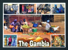 GAMBIA  -  Multi View  Unused  Postcard As Scan - Gambia