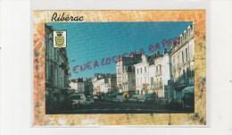 24 - RIBERAC - RUE PRINCIPALE   - EDITIONS KSP SAINT JUNIEN - Riberac
