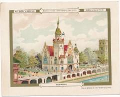 AU BON MARCHE - Exposition Universelle 1900 - Pavillon D'Allemagne - Au Bon Marché