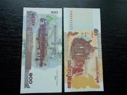 CAMBODIA -CAMBODGE - 50 + 100 RIELS - 2002- UNC - Cambodia