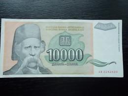 Jugoslavija- 10000 DINARA - 1993 - VF - Yugoslavia