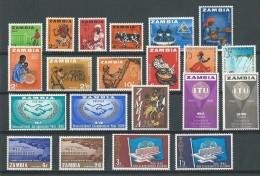 Zambie: 1 Lot Entre 1 Et 47 ** - Zambie (1965-...)