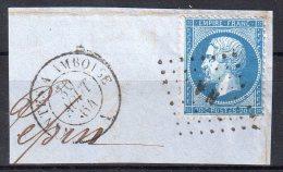 """N° 22 . OBL  . AMBULANTS . """" NA """" . SUR FGT . - Marcophily (detached Stamps)"""