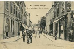 CPA (54) LUNEVILLE    Rue Des Capucins - Luneville