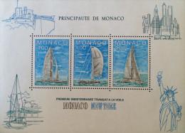 MONACO-NEW YORK A LA VOILE 1985 - NEUF ** - YT BL 32 - MI BL 30 - Monaco