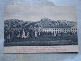 Montenegro  First Balkan War - Roi Nikola - Crna Gora - 1912 - Hospital - Voukotitch -Podgoritza  D131256 - Montenegro