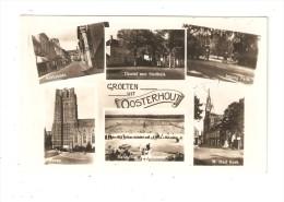 CPA : Pays Bas - OOSTERHOUT  Multivues ( 4 ) Groeten Vit Oosterhout - 1945 - Oosterhout