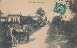 CPA 33 AMBES Le Mayne - Bel Attelage  - Edition Brémond - France