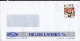 Denmark HELGE LARSEN, Ford Car Auro Sale 2000 Cover Brief Women's Right To Vote 1915 Stamp - Dänemark
