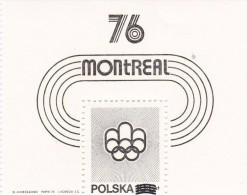 Polonia Hb En Negro - Verano 1976: Montréal