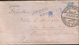 Germany -Letter Circulated From Dresden Weisser Hirsch At Busteni,Romania In 1923- Post Mark Collecting - 2/scans - Briefe U. Dokumente