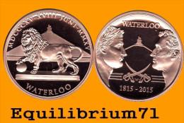 Emission Commémorative WATERLOO 1815/2015 - 29gr De Bronze / Diamètre: 35mm / Epaisseur: 5mm - Tirage Limité - Militaria